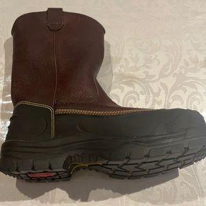 Oliver's caustic resistant footwear